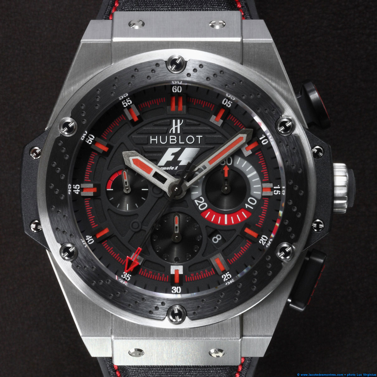 La Cote des Montres : Photo - Hublot F1 King Power