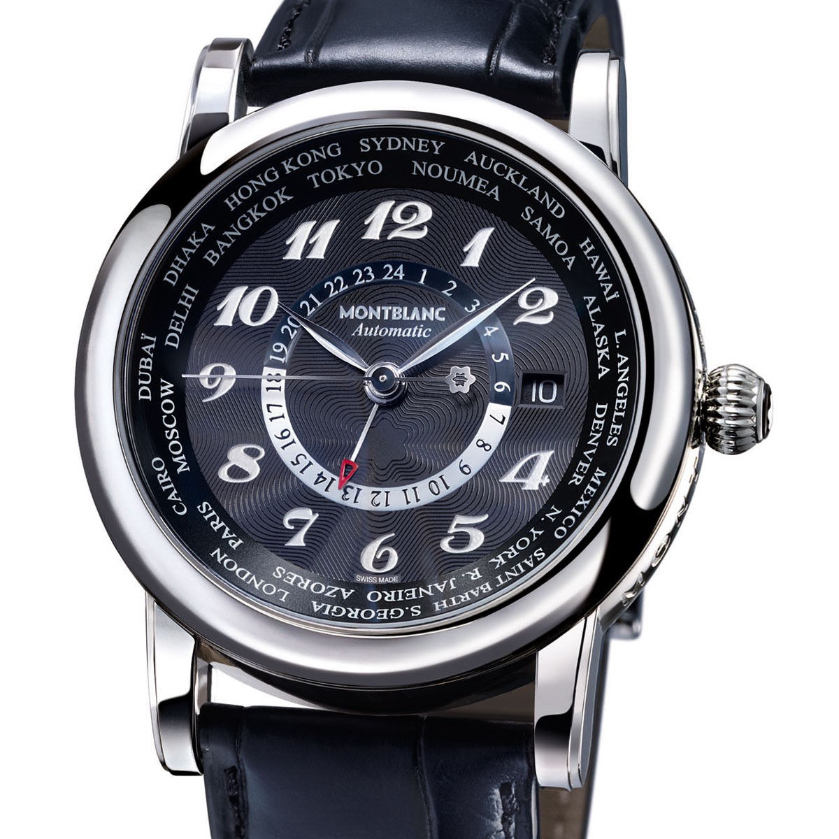 La Cote des Montres : Photo - Montblanc Star Worldtimer Automatic