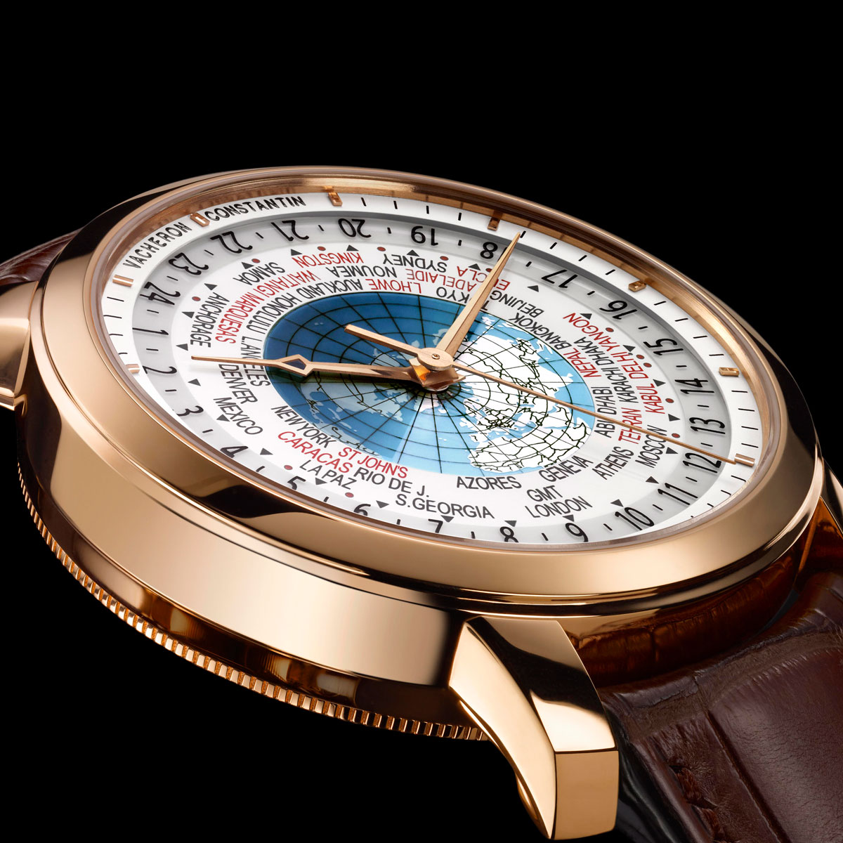 The Watch Quote: Photo - Vacheron Constantin Patrimony Traditionnelle World Time