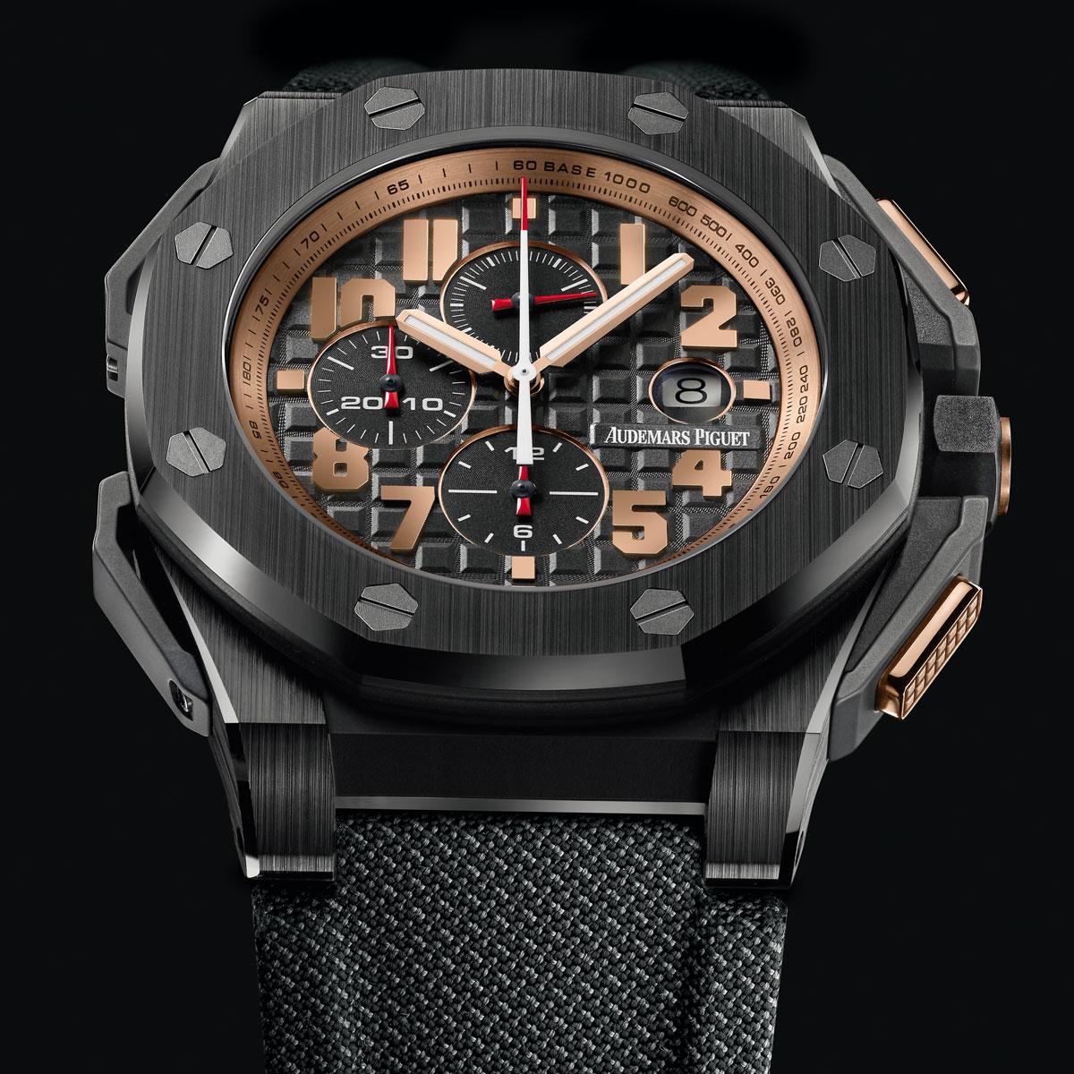 The Watch Quote: Photo - Audemars Piguet Royal Oak Offshore Arnold Schwarzenegger The Legacy Chronograph