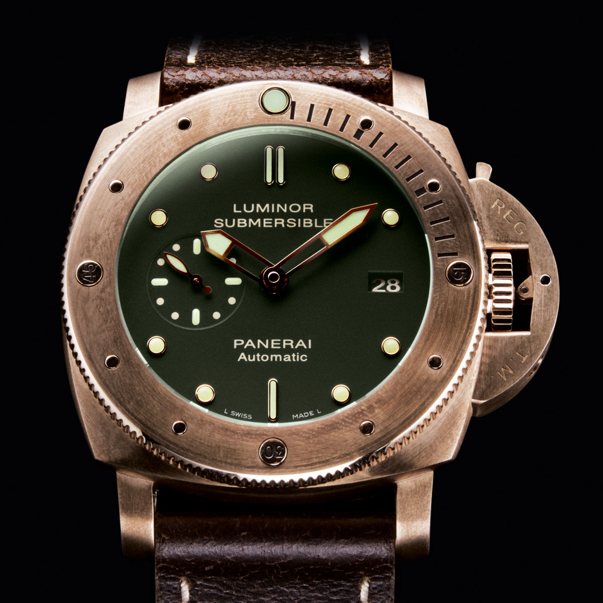 the watch quote photo panerai luminor submersible 3. Black Bedroom Furniture Sets. Home Design Ideas
