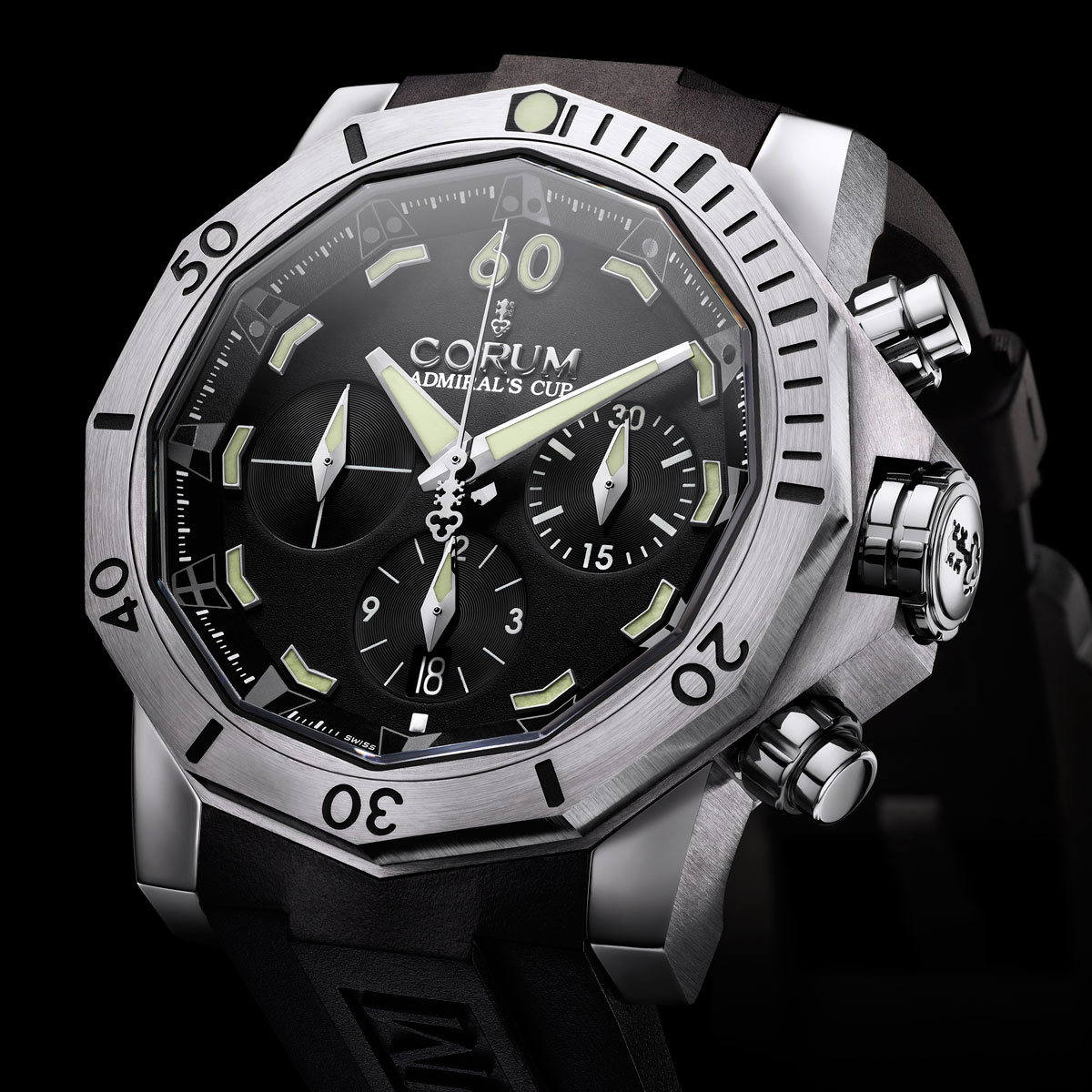 The Watch Quote: Photo - Corum Admiral's Cup Seafender 46