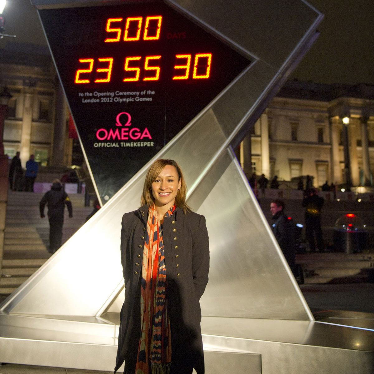 The Watch Quote: Photo - London 2012 and Omega launch Countdown Clock to the Olympic Games