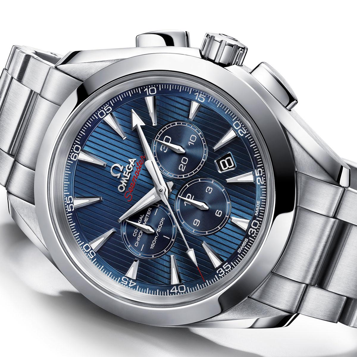 The Watch Quote: Photo - Omega Seamaster Aqua Terra 44 London Chronograph