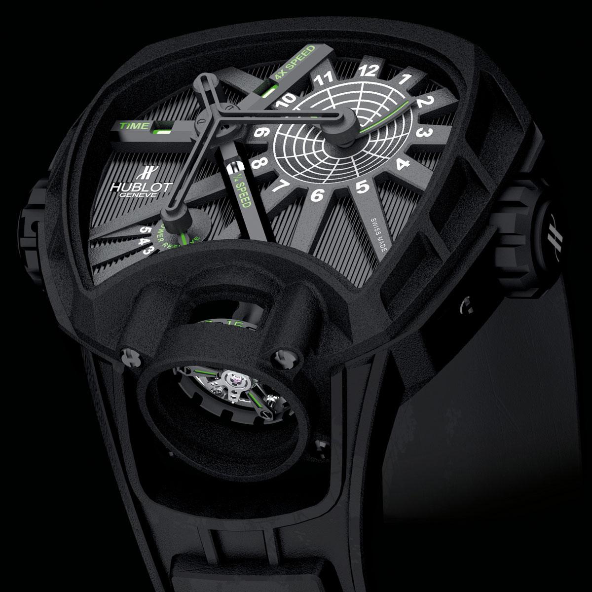 La Cote des Montres : Photo - Hublot Masterpiece MP-02 Key of Time