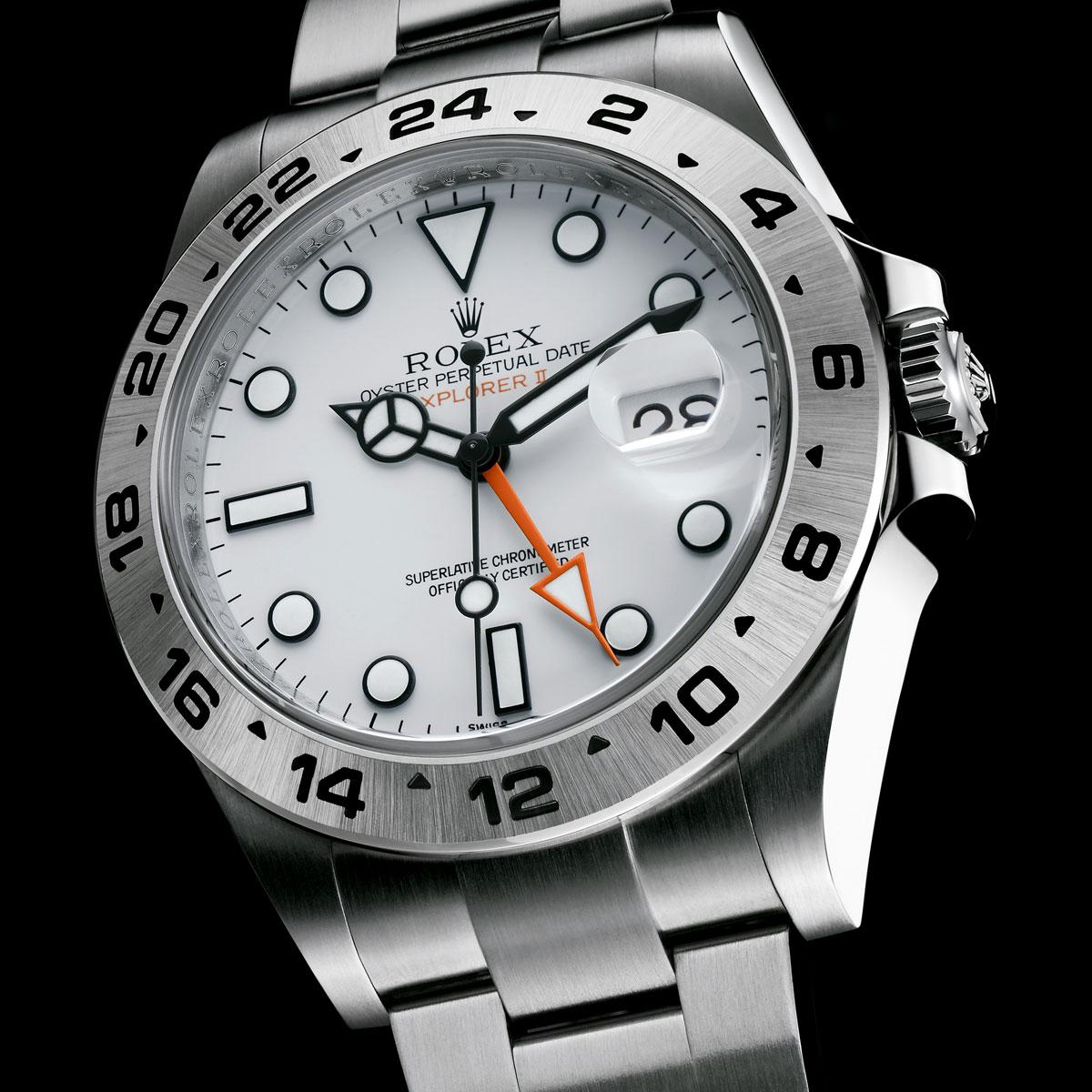 La Cote des Montres : Photo - Rolex Oyster Perpetual New Explorer II