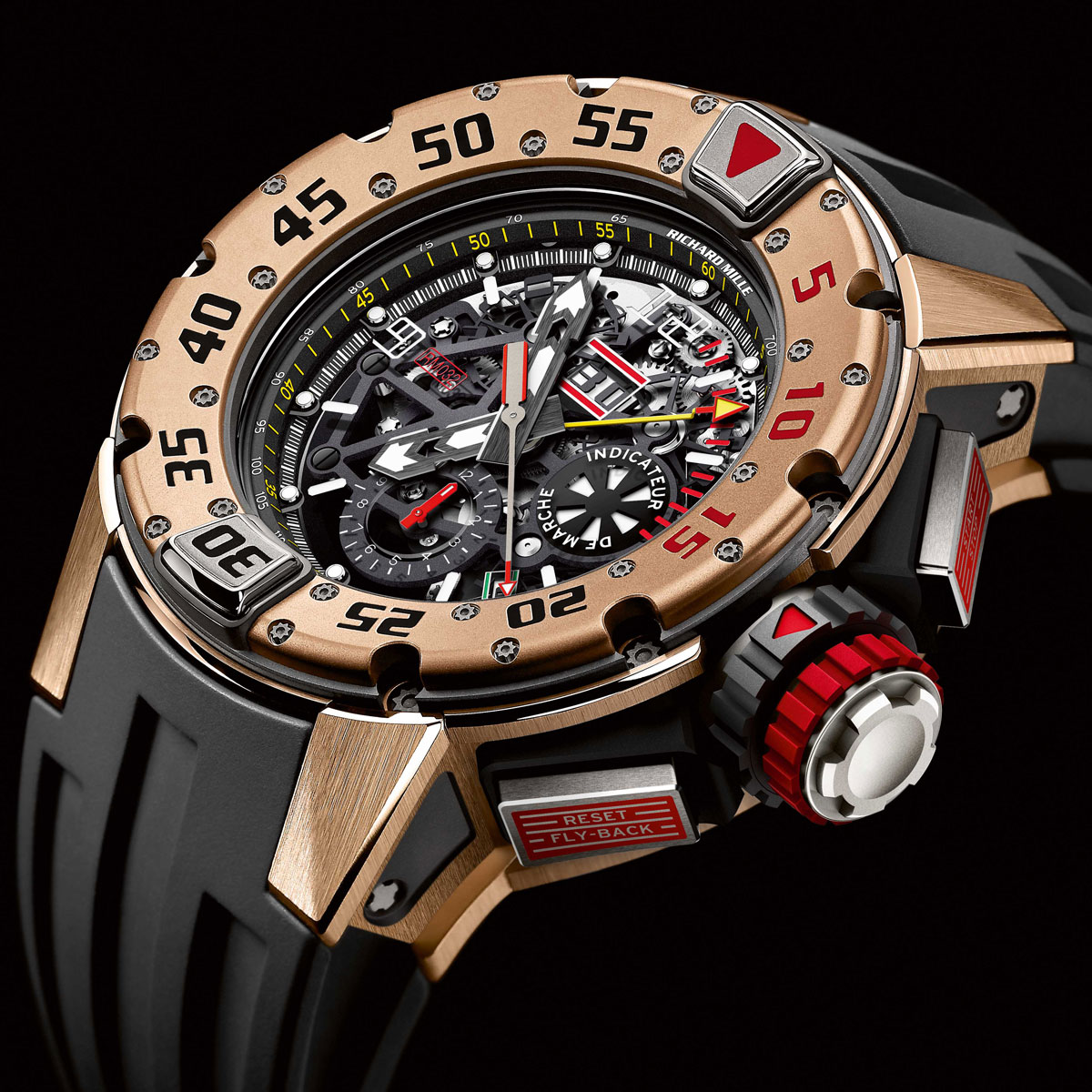 The Watch Quote: Photo - The Richard Mille Automatic Chronograph RM 032 Diver's watch