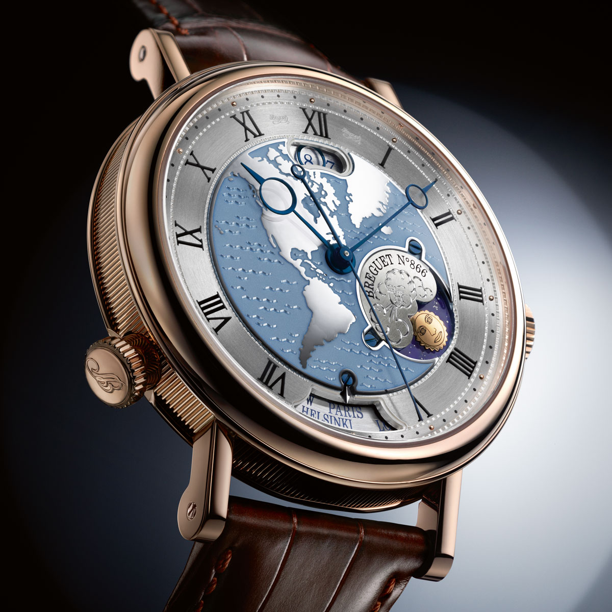 The Watch Quote: Photo - Breguet Classique Hora Mundi 5717