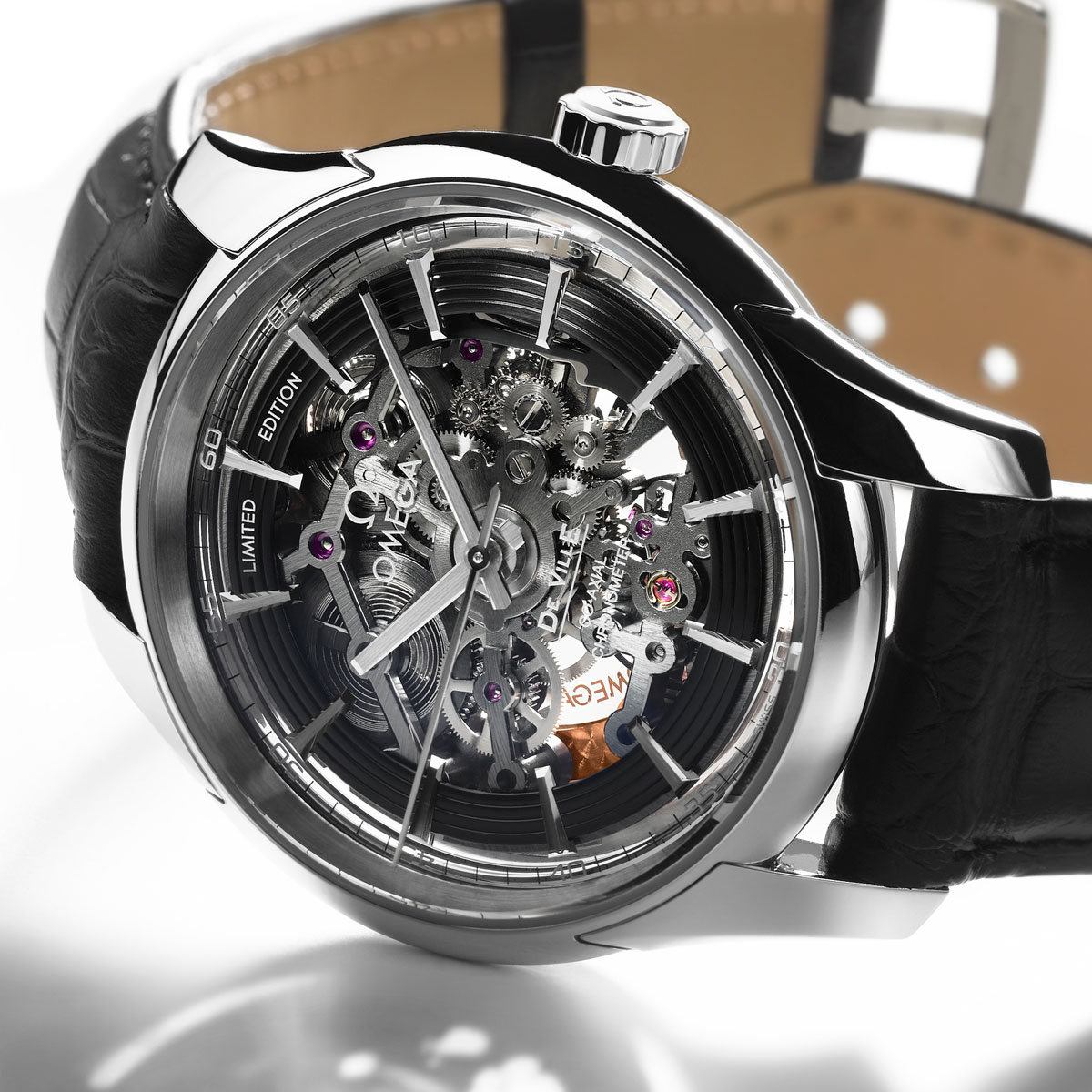 The Watch Quote: Photo - Omega Hour Vision Co-Axial Skeleton Platinum Limited Edition