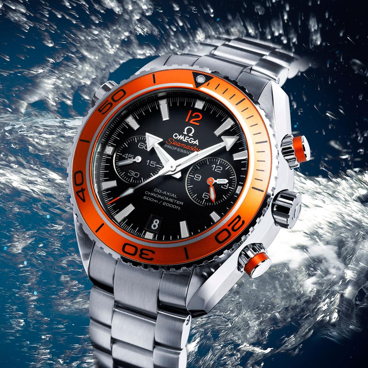 La Cote des Montres : Photo - Omega Chronographe Seamaster Planet Ocean 45,50mm