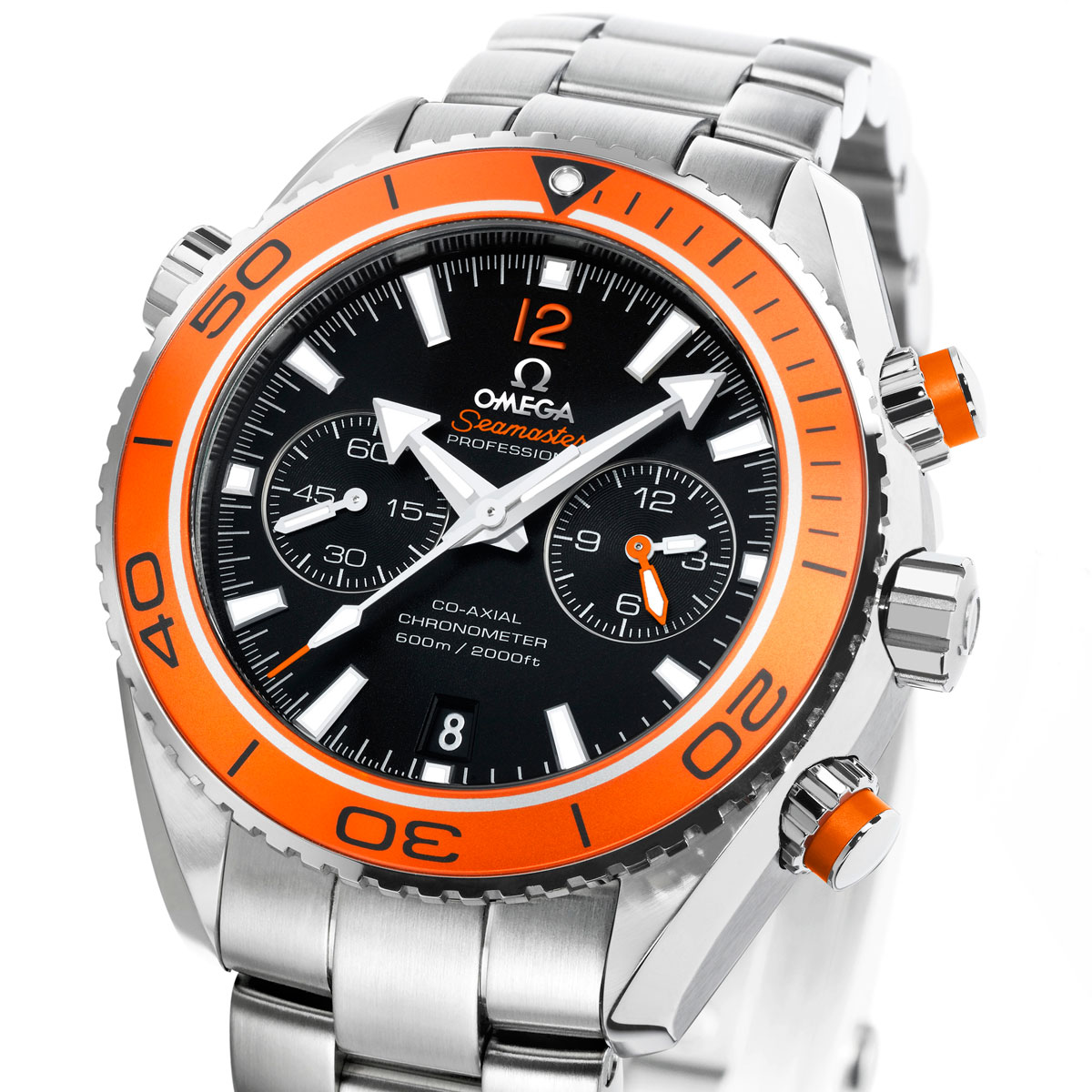 La Cote des Montres : Photo - Omega Chronographe Seamaster Planet Ocean 45,50 mm