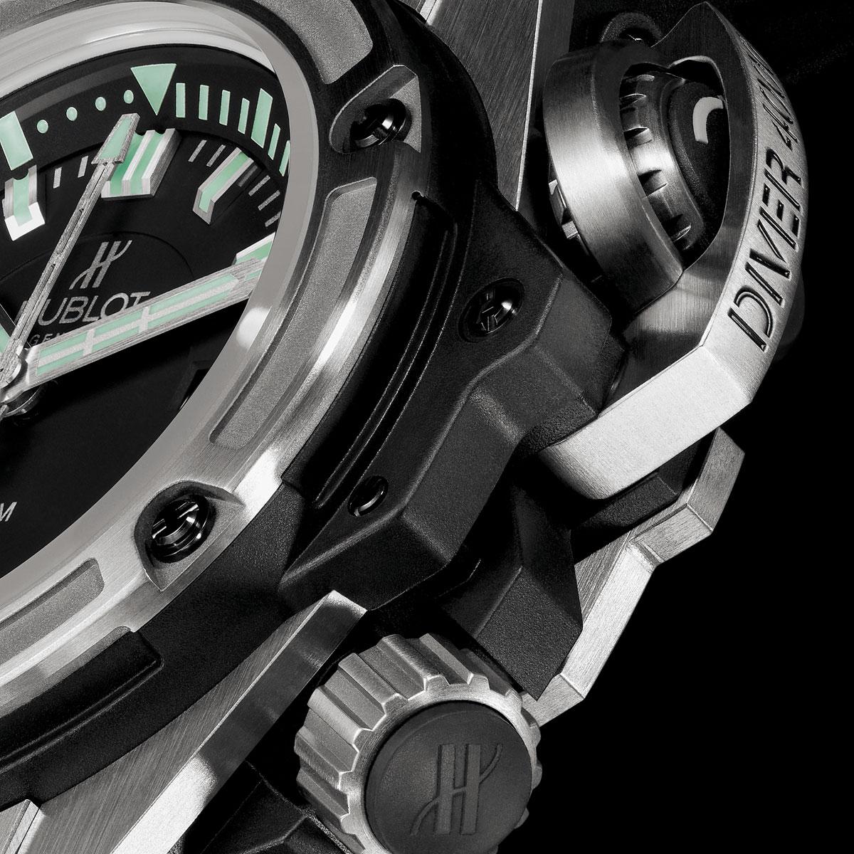 La Cote des Montres : Photo - Hublot King Power 48 MM Oceanographic 4000