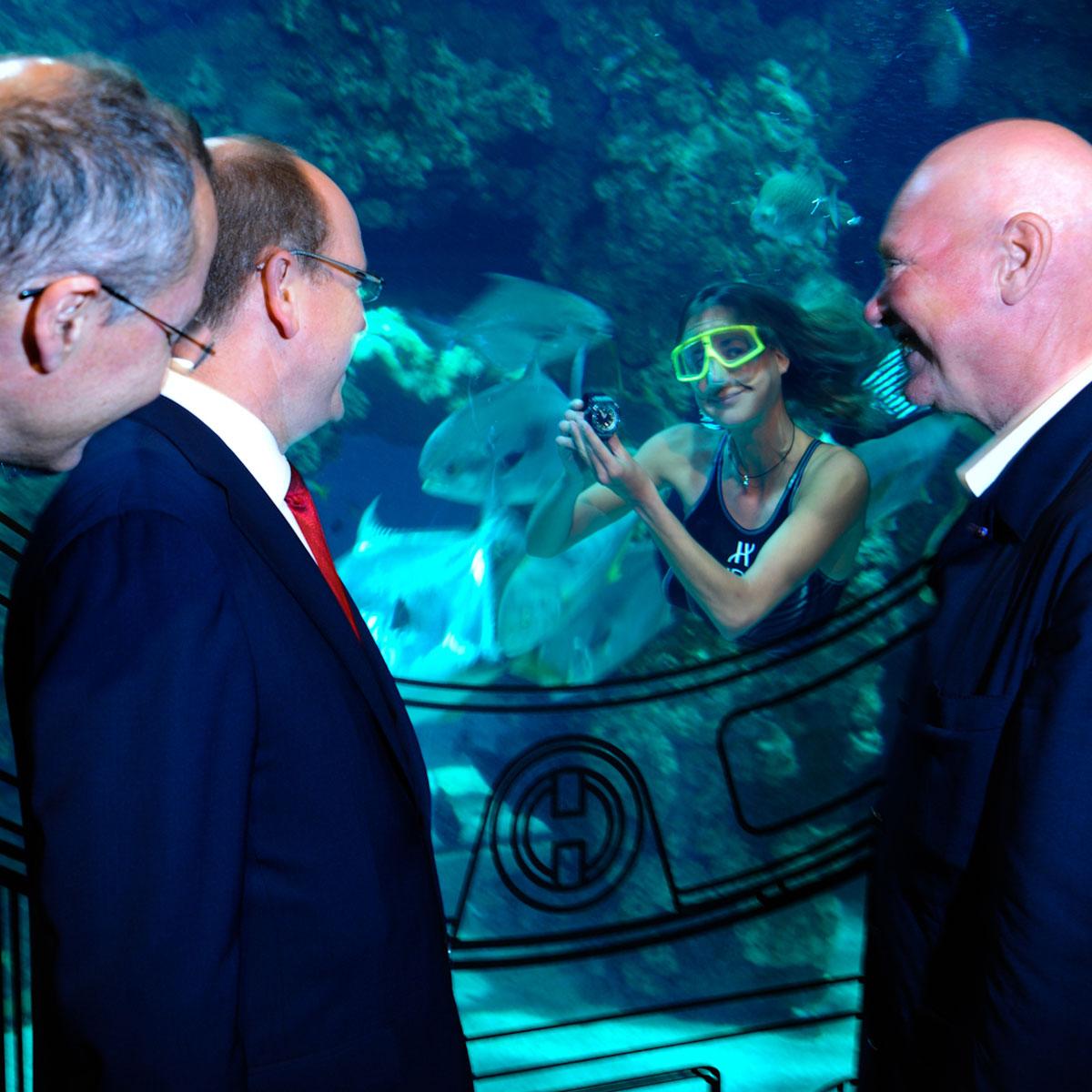 La Cote des Montres : Photo - Hublot et le Musée Océanographique de Monaco présentent l'Oceanographic 4000
