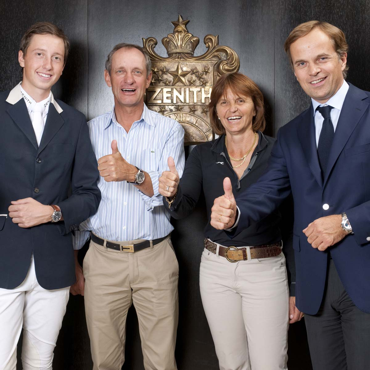 La Cote des Montres : Photo - Martin Fuchs, le jeune prodige du saut d'obstacles, rejoint les ambassadeurs Zenith