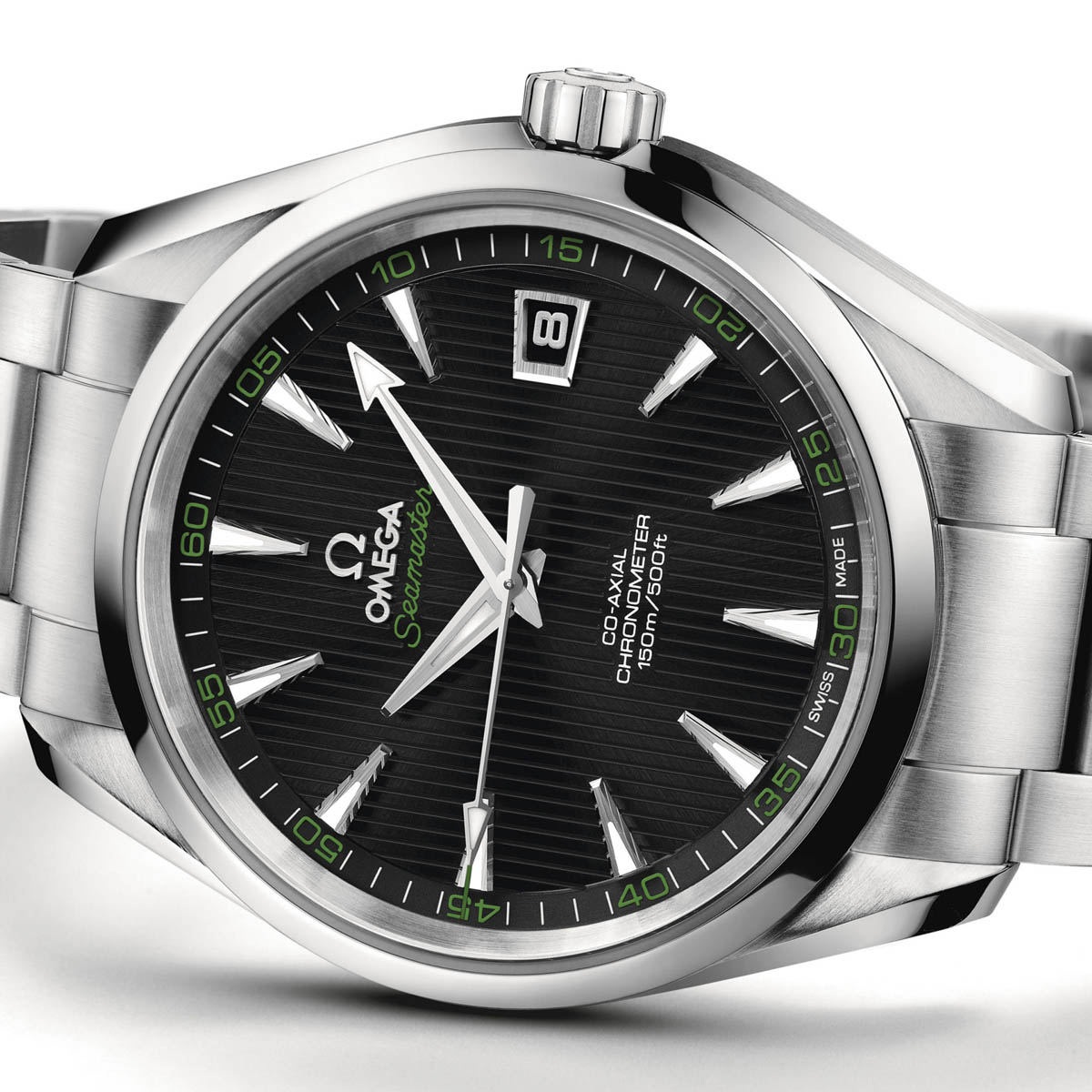 La Cote des Montres : Photo - Omega Seamaster Aqua Terra 41,5 mm Co-Axial