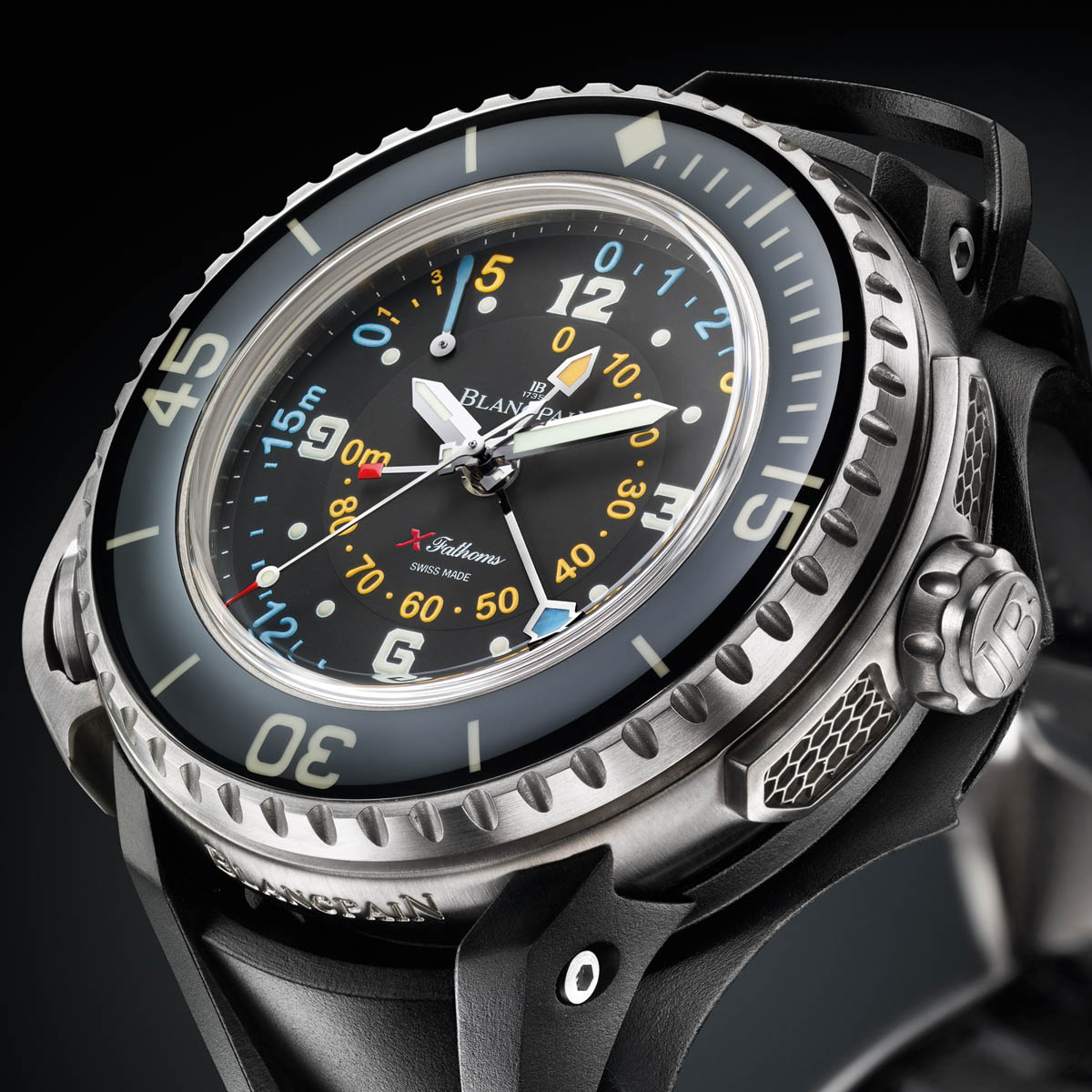 The Watch Quote: Photo - Blancpain X Fathoms