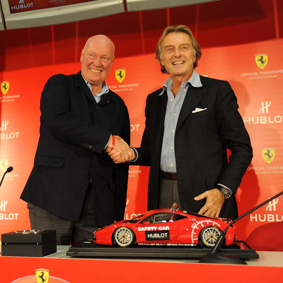 La Cote des Montres : Photo - Hublot entre dans le monde Ferrari