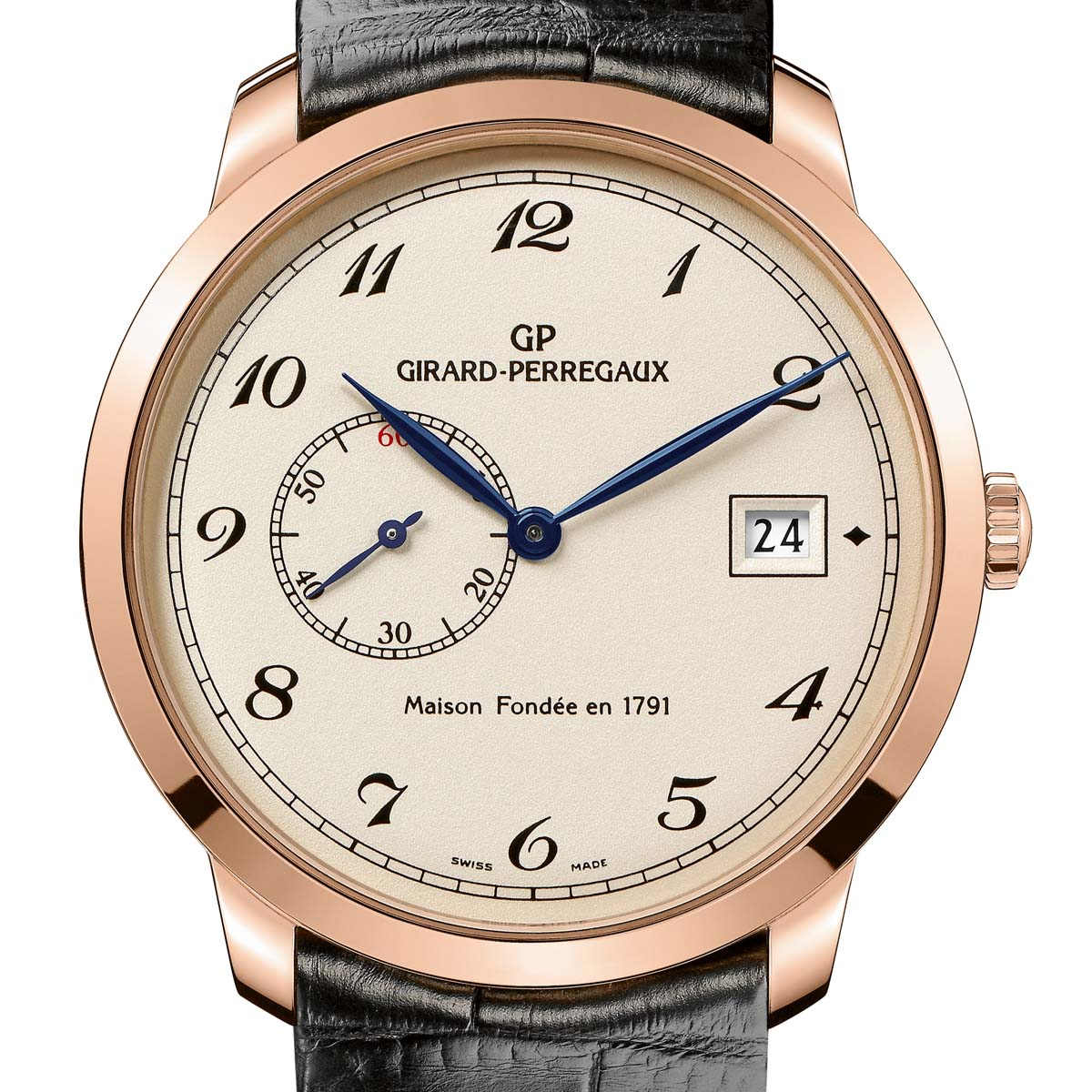 The Watch Quote: Photo - Girard-Perregaux 1966 small second