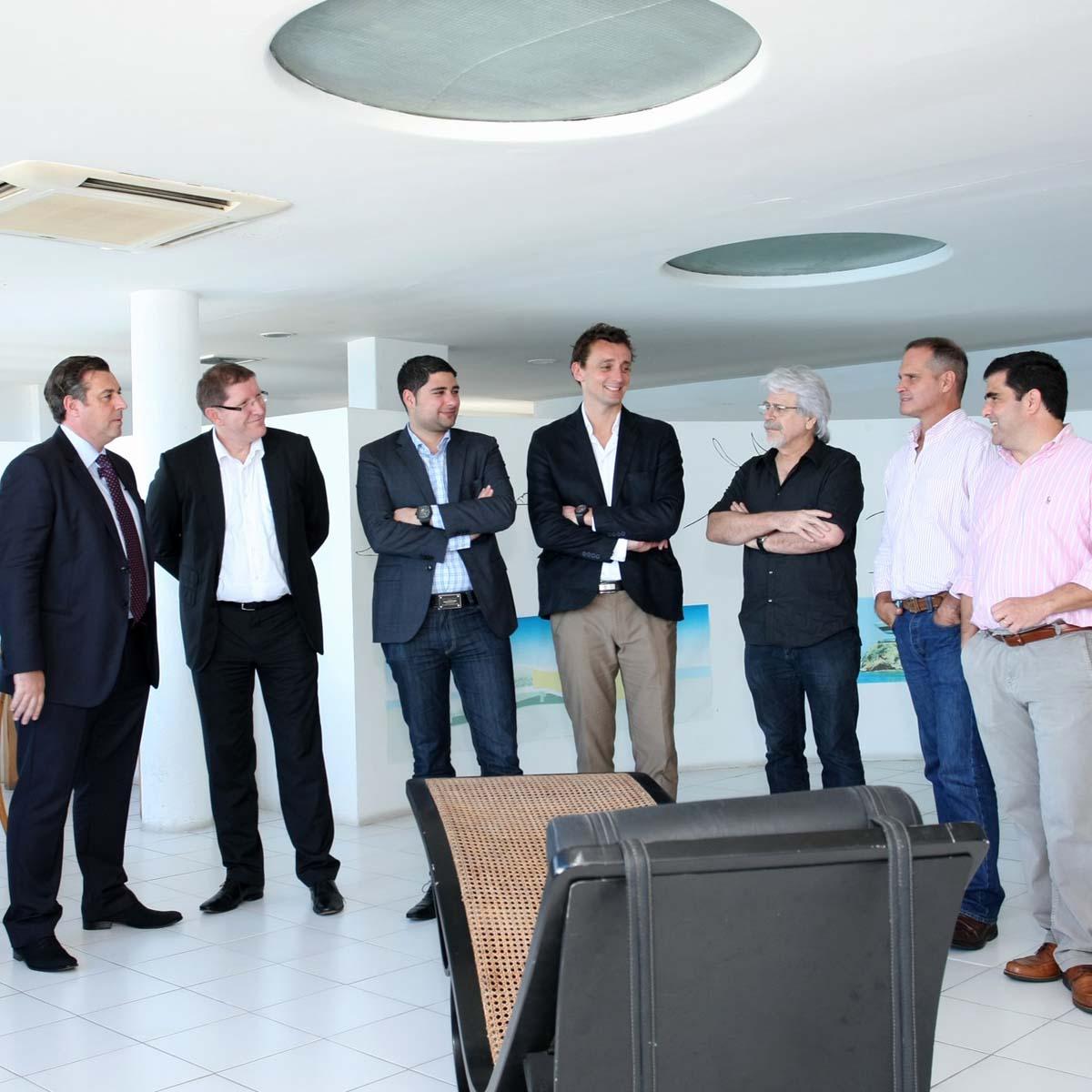 La Cote des Montres : Photo - Hublot Big Bang 44 mm Aero Bang Niemeyer