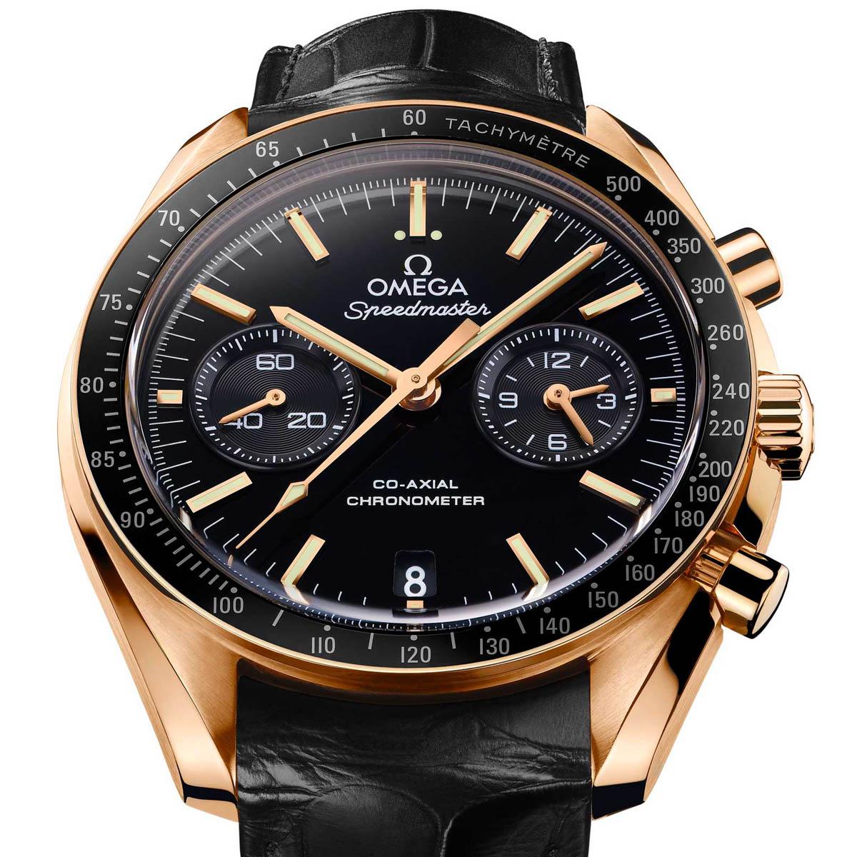 La Cote des Montres : Photo - Omega Speedmaster Moonwatch Chronographe Co-Axial Calibre 9301