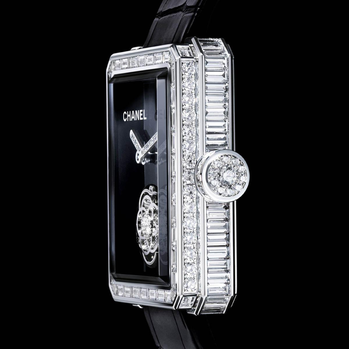 La Cote des Montres : Photo - Chanel Première Tourbillon Volant