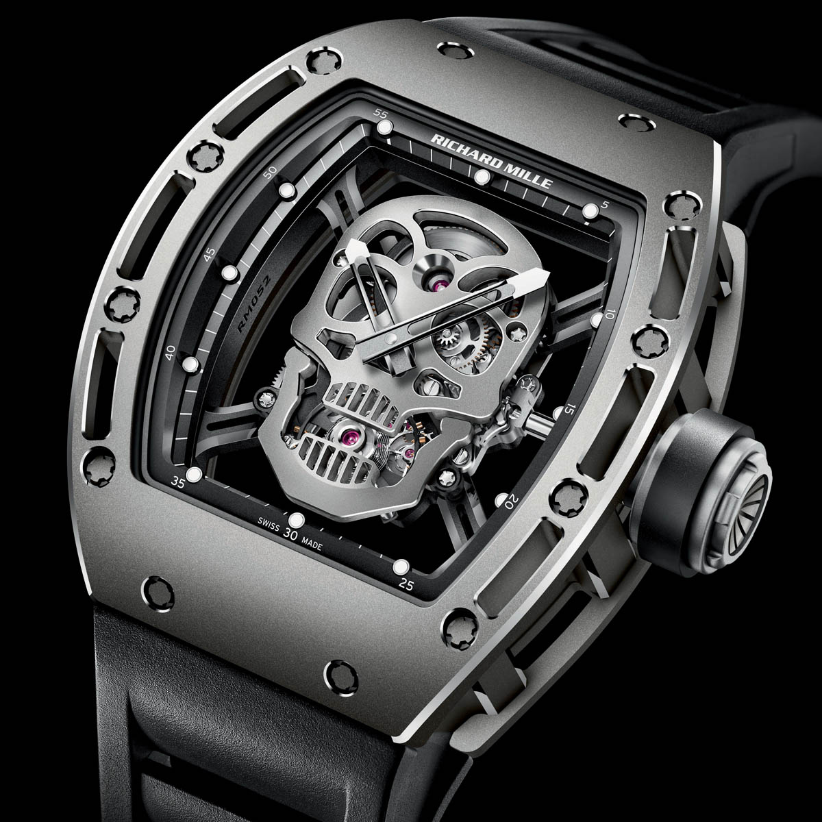 The Watch Quote: Photo - Richard Mille Tourbillon RM 052 Skull
