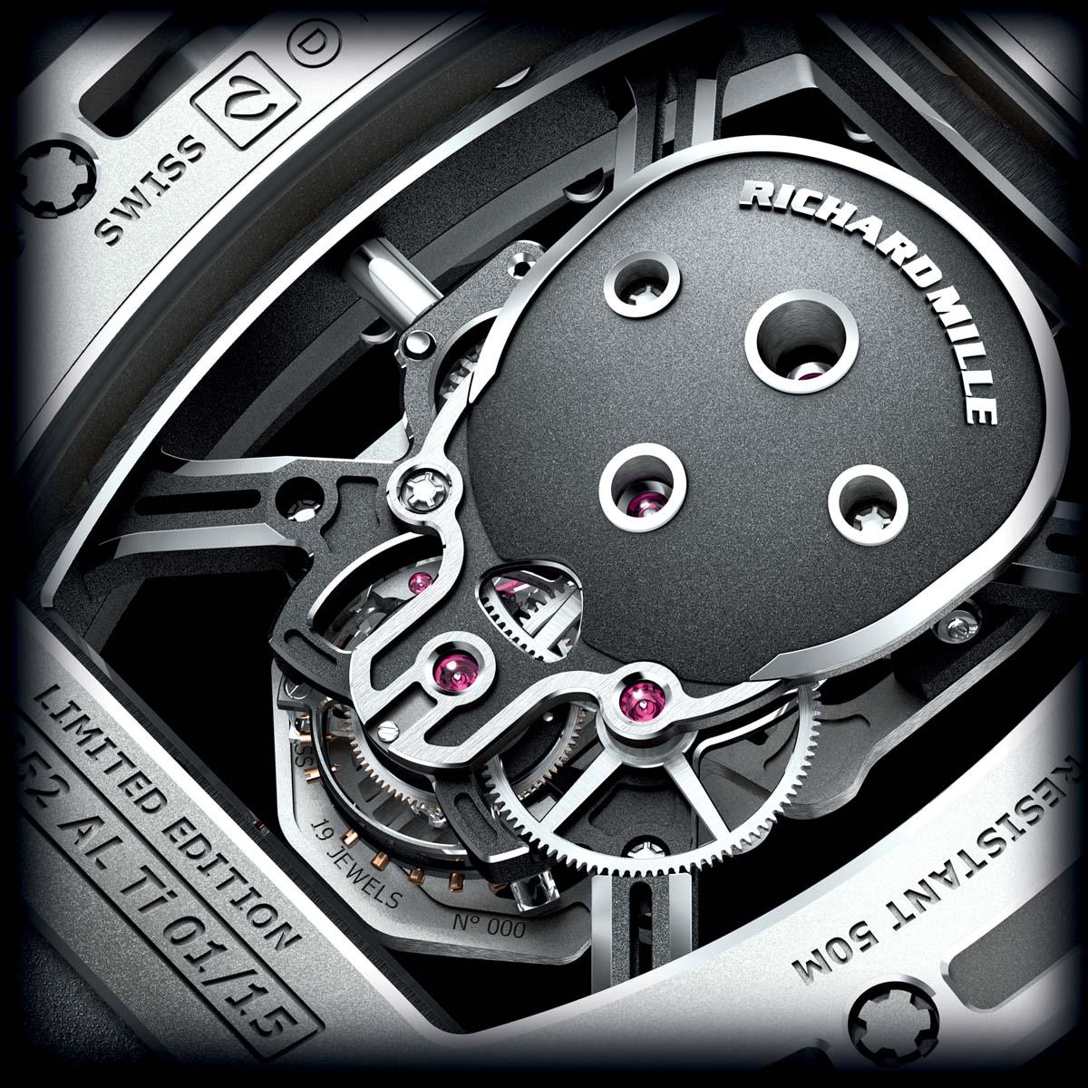 The Watch Quote: Photo - Richard Mille Tourbillon RM 052 Skull