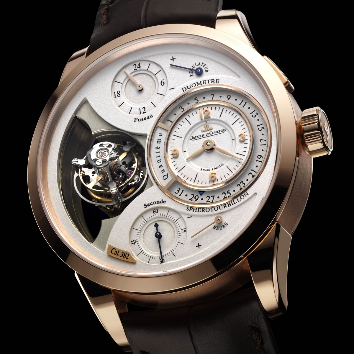The Watch Quote: Photo - Jaeger-LeCoultre New Duomètre à Sphérotourbillon