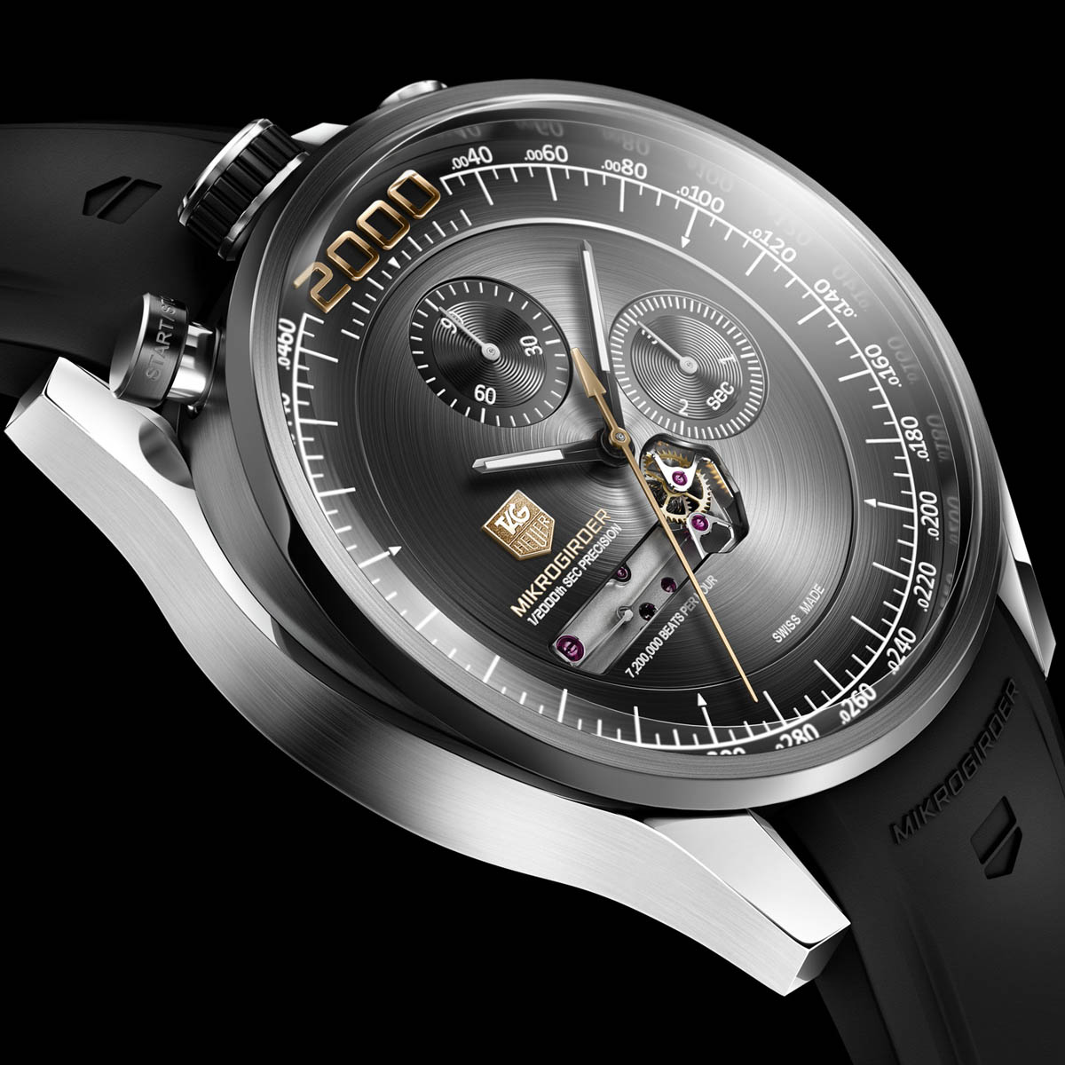 The Watch Quote: Photo - TAG Heuer Mikrogirder