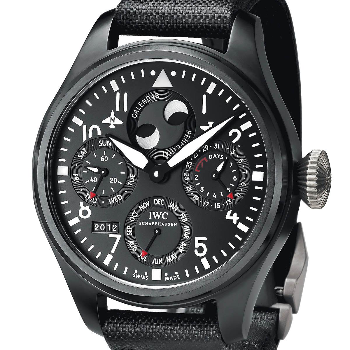 The Watch Quote: Photo - IWC Big Pilot's Watch Perpetual Calendar Top Gun