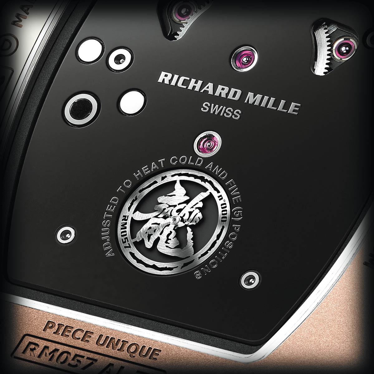 The Watch Quote: Photo - Richard Mille Tourbillon RM 057 Dragon - Jackie Chan