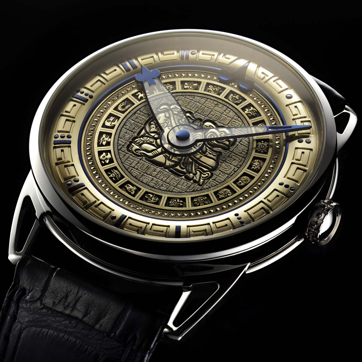 The Watch Quote: Photo - De Bethune - The ninth Mayan underworld