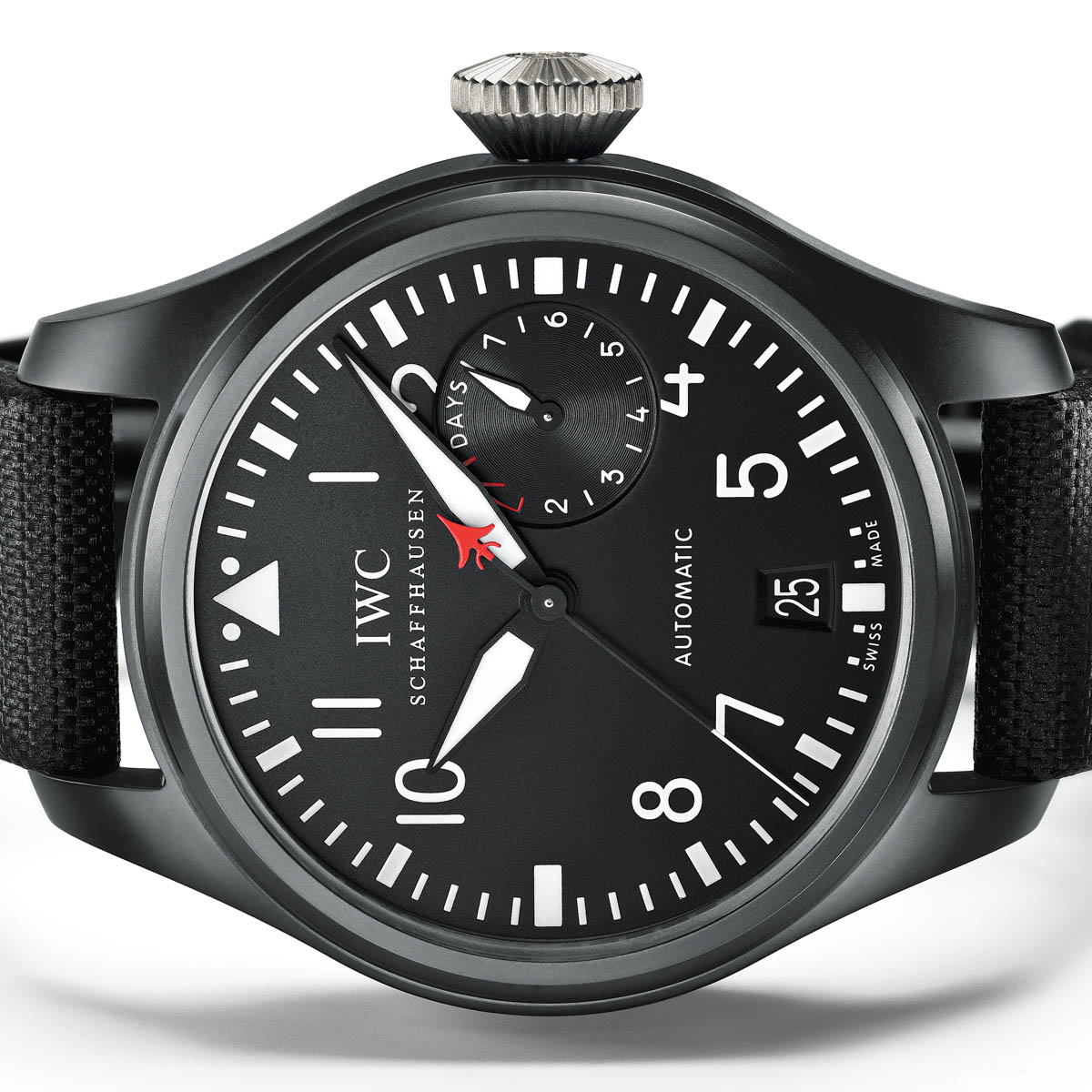 The Watch Quote: Photo - IWC Big Pilot's Watch Top Gun and Big Pilot's Watch Top Gun Miramar