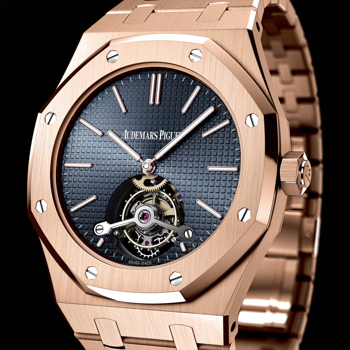 La Cote des Montres : Photo - Audemars Piguet Tourbillon Royal Oak Extra-plat - 41mm