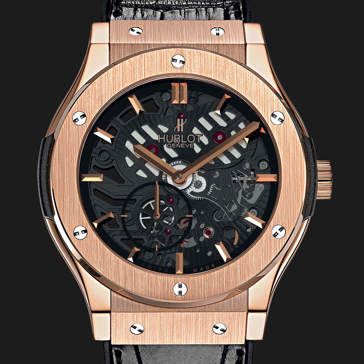 The Watch Quote: Photo - Hublot Classic Fusion ultra-thin skeleton