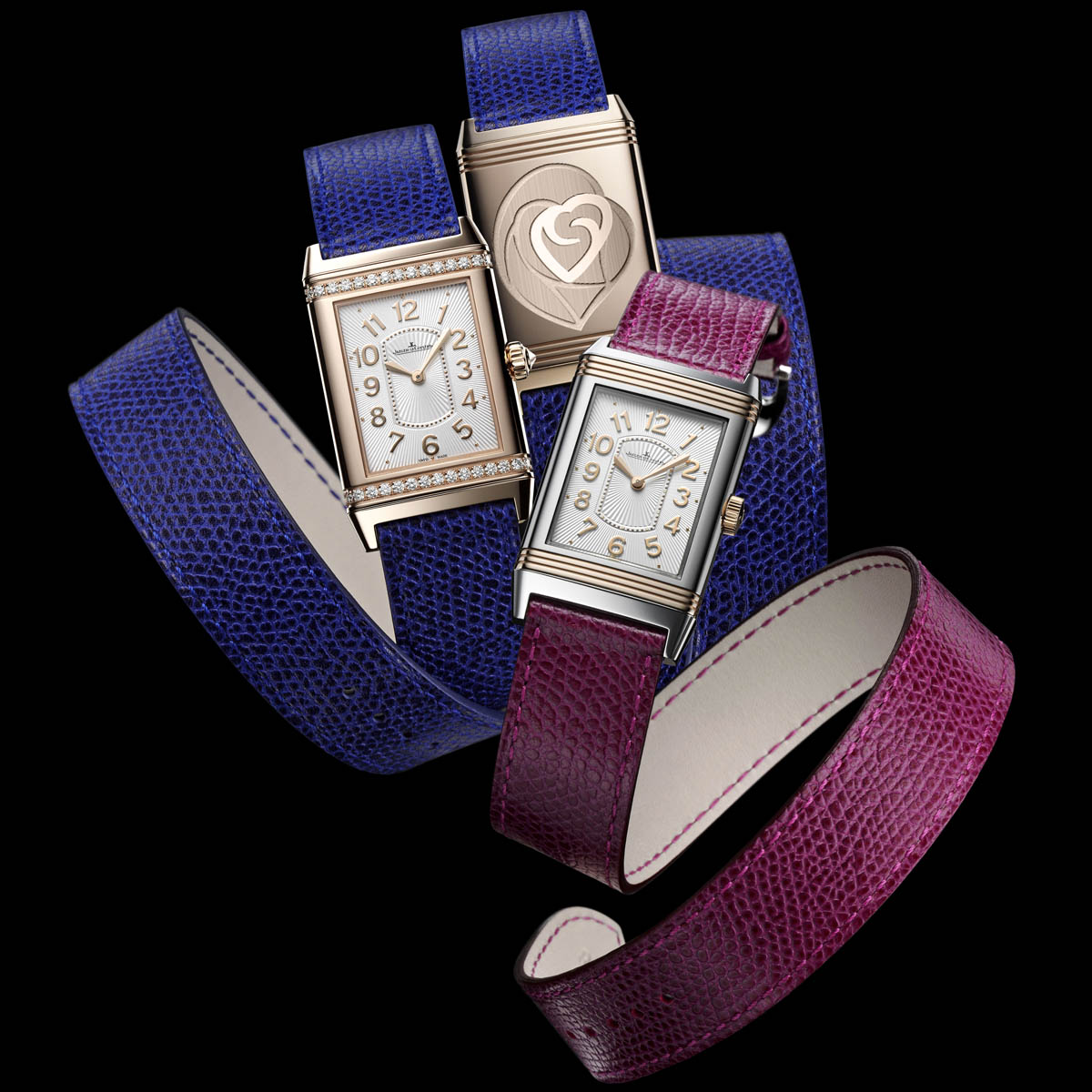 The Watch Quote: Photo - Jaeger-Lecoultre: A new feminine Reverso for Valentine's Day