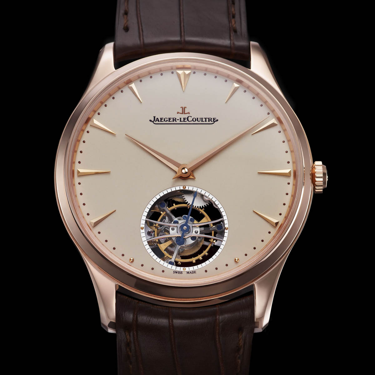 The Watch Quote: Photo - Jaeger-Lecoultre Master Ultra Thin Tourbillon