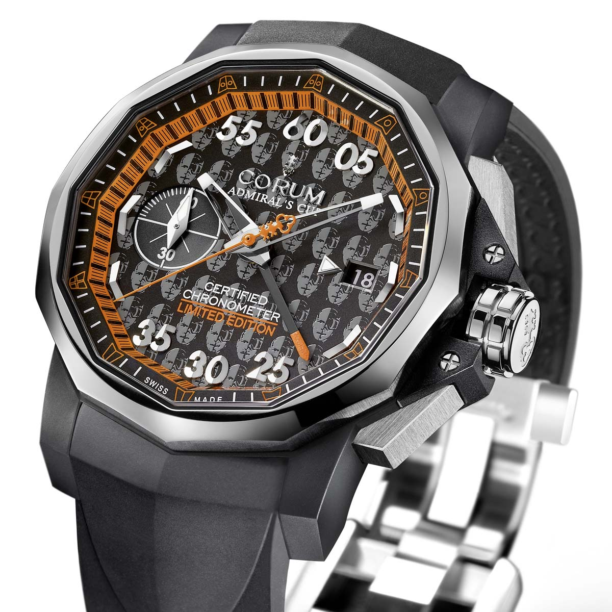 The Watch Quote: Photo - Corum Admiral's Cup 44 Chrono Centro Didier Cuche