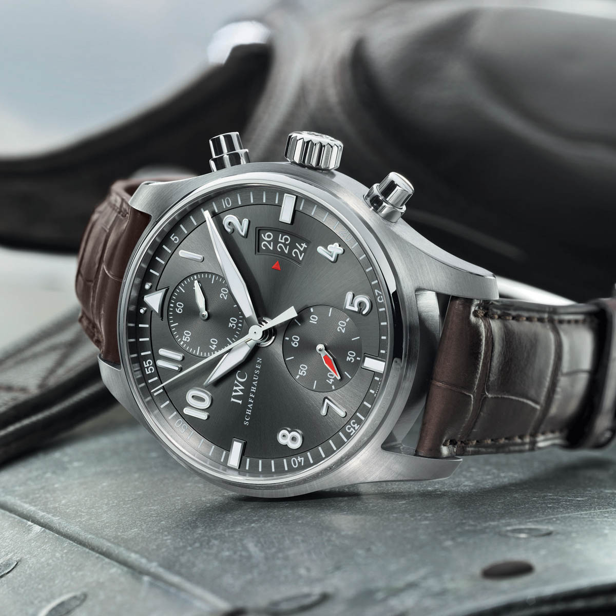 The Watch Quote: Photo - IWC Spitfire Chronograph