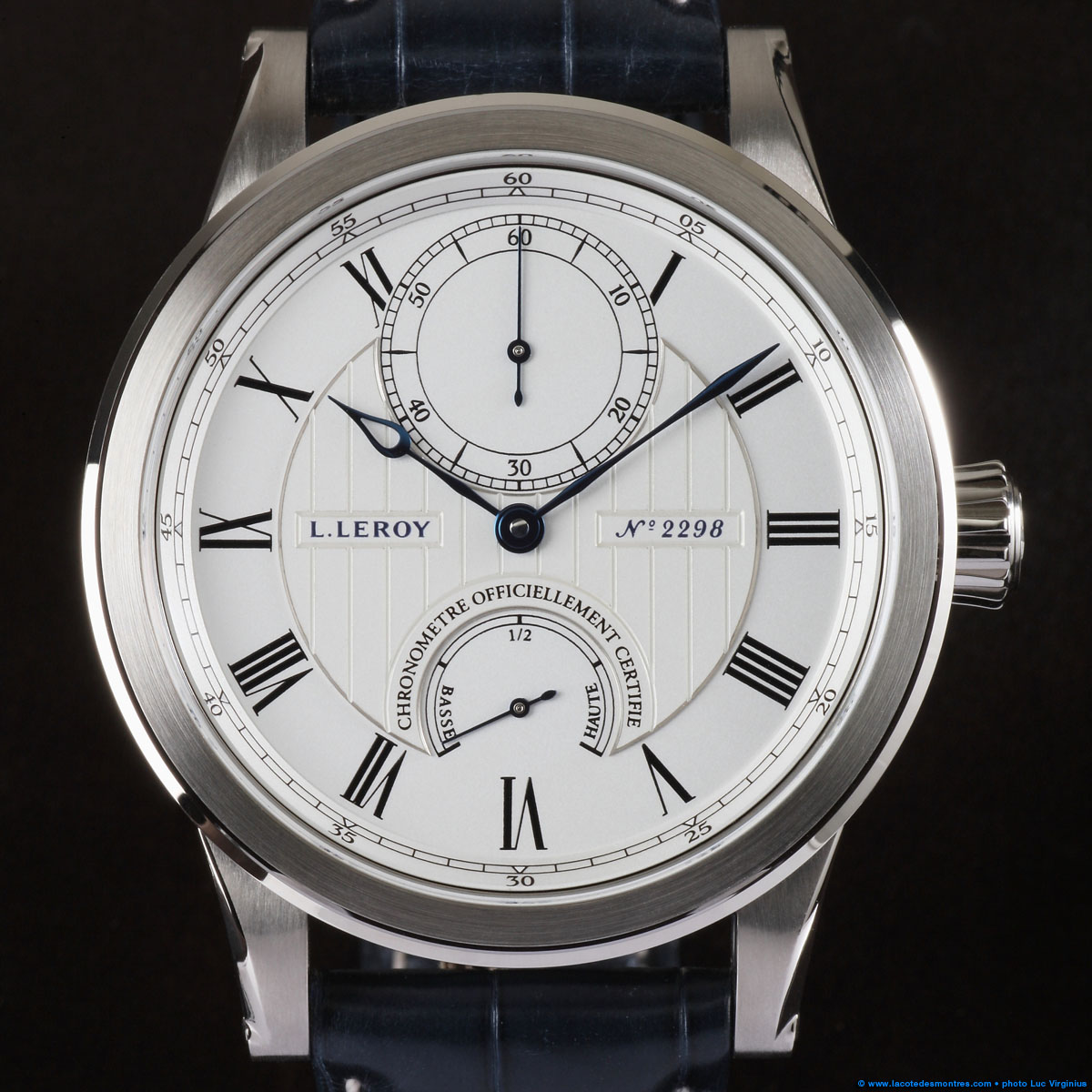 The Watch Quote: Photo - L.Leroy Marine model large ...