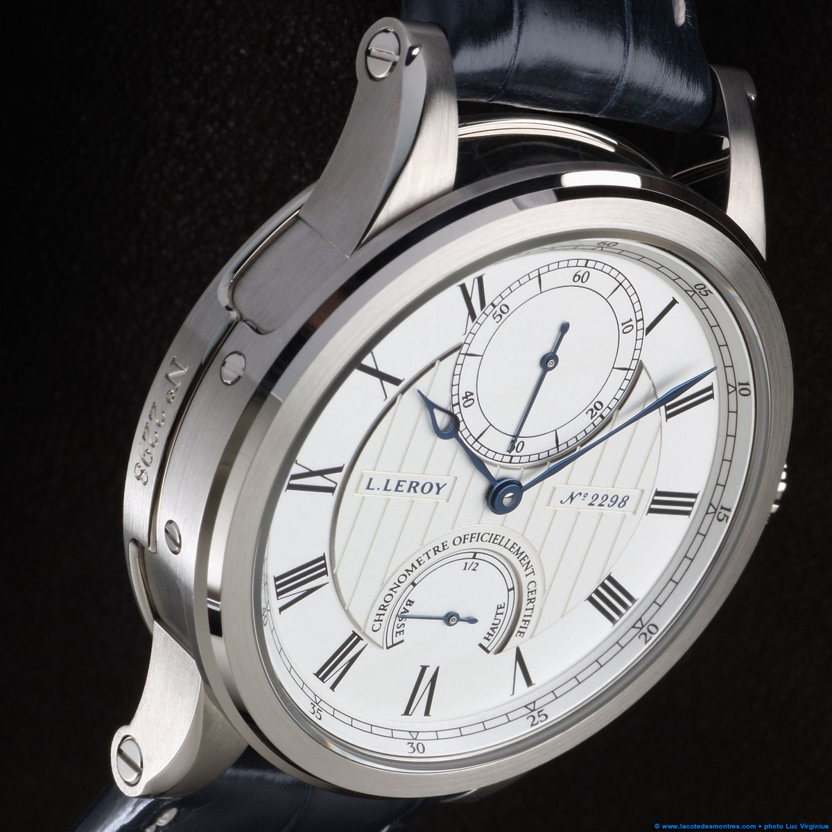 The Watch Quote: Photo - L.Leroy Marine model large seconds and power reserve indication