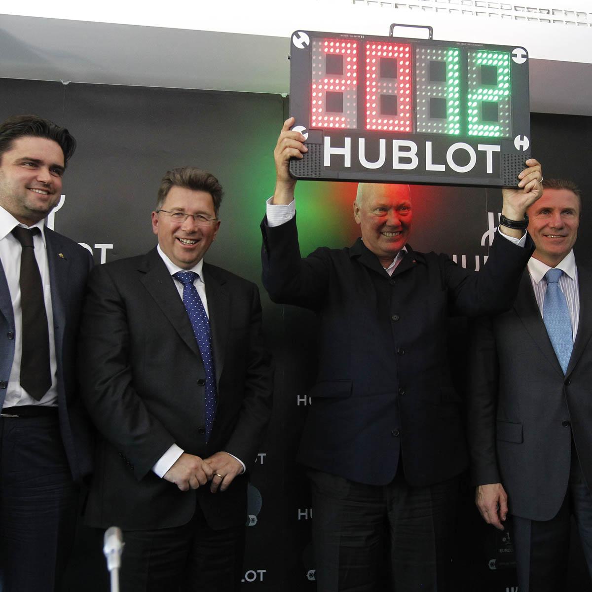 "The Watch Quote: Photo - Hublot King Power UEFA Euro 2012â""¢ Ukraine"