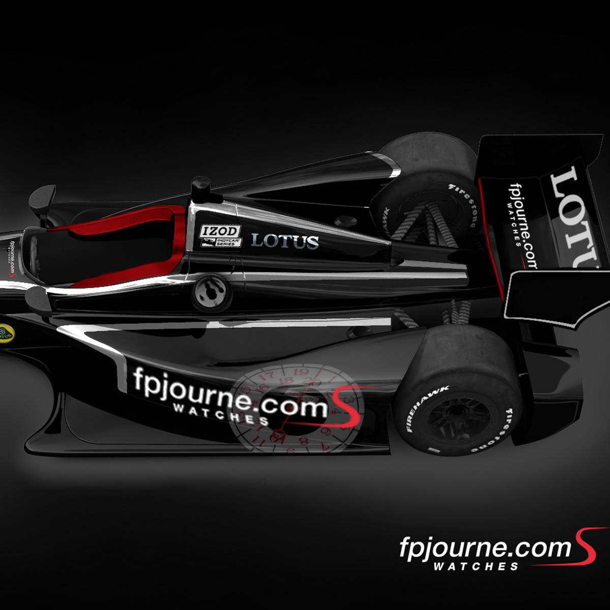 """La Cote des Montres : Photo - F.P.Journe et la """"lineSport� à Indianapolis 500"""