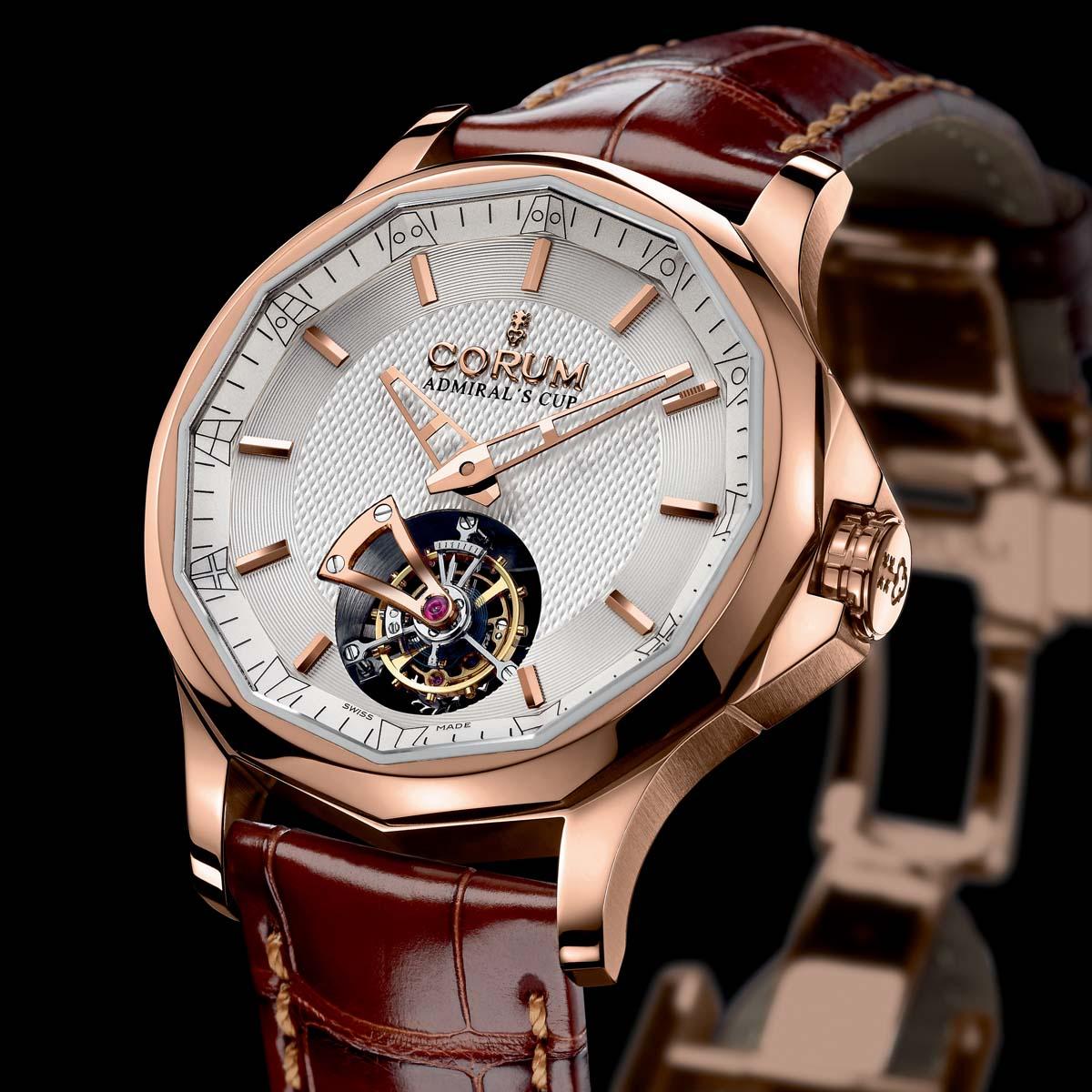 The Watch Quote: Photo - Corum Admiral's Cup Legend 42 Tourbillon Micro-Rotor