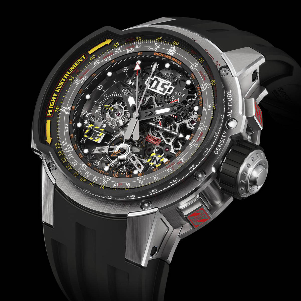 The Watch Quote: Photo - Richard Mille Tourbillon RM 039 Aviation E6-B Flyback