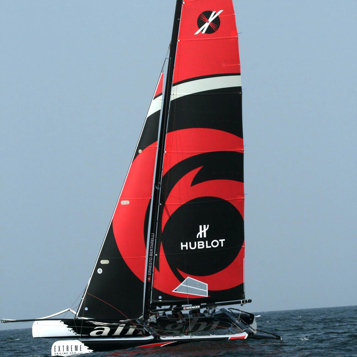 The Watch Quote: Photo - Hublot alongside Alinghi