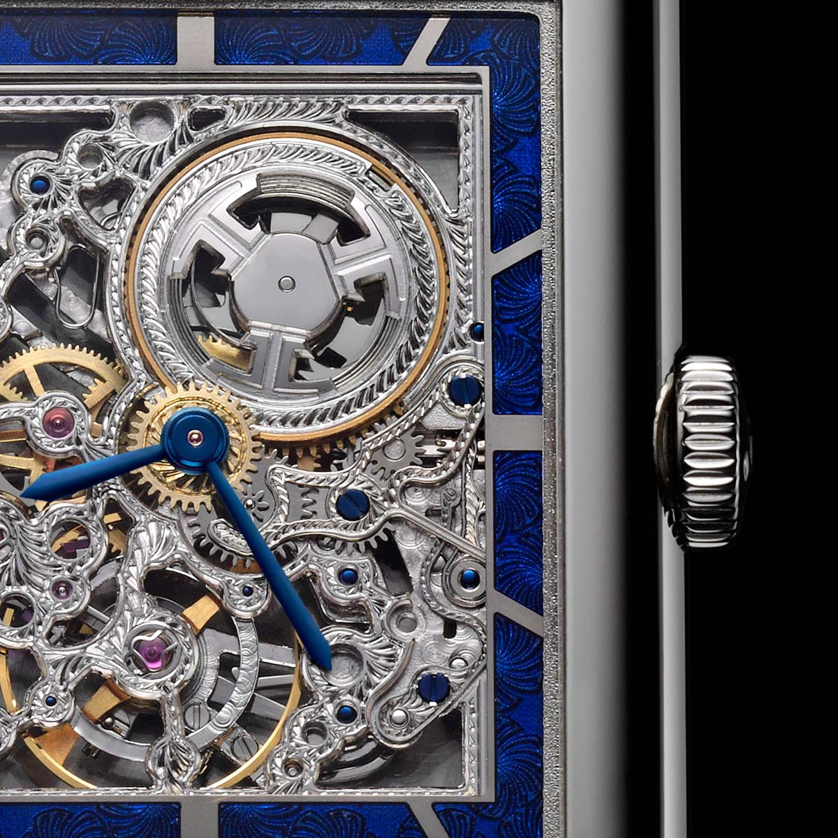 The Watch Quote: Photo - Jaeger-LeCoultre Grande Reverso Ultra Thin SQ openworked movement