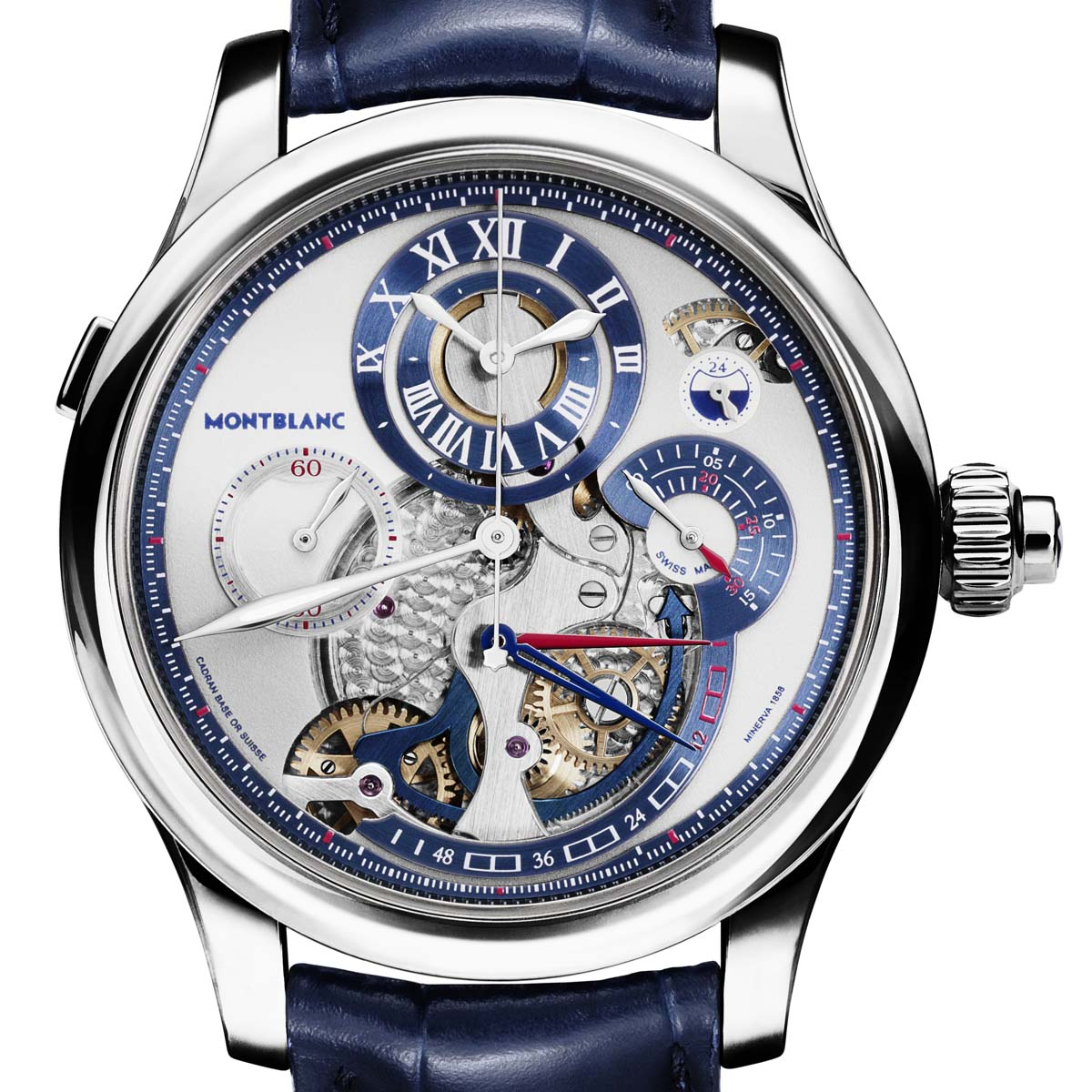 The Watch Quote: Photo -  Montblanc Régulateur Nautique Wristwatch Chronograph