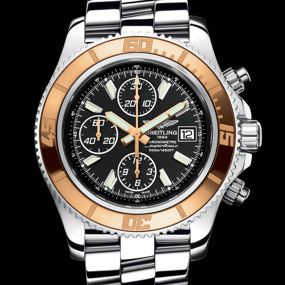 The Watch Quote: Photo - Breitling Superocean Chronograph II