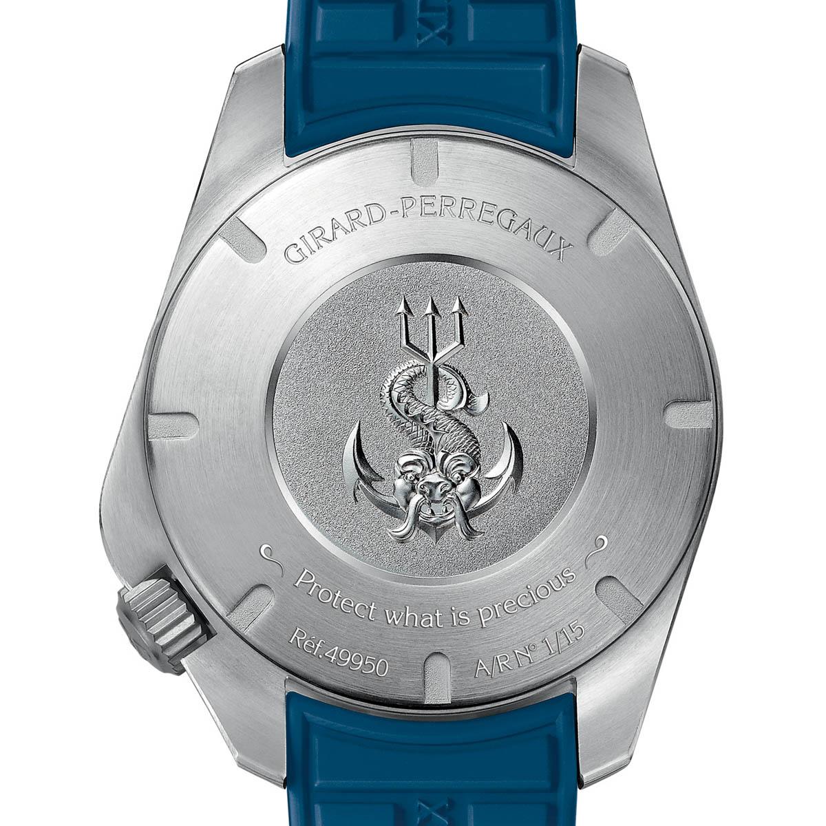 "The Watch Quote: Photo - Girard-Perregaux Sea Hawk Pro 1000  ""Big Blue�"